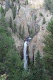 Do rio à cachoeira Foto de Stock