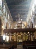 ` Do século XIV s de St Mary a igreja virgem fotos de stock