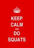 Do squats Stock Photos
