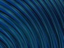 Do sumário fundo do azul da forma swirly 3d Fotos de Stock Royalty Free