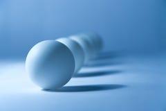 Do sumário vida ainda com esferas pequenas foto de stock