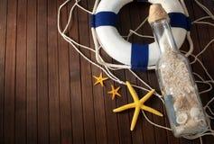 Do tema vida marinha ainda. Imagem de Stock Royalty Free