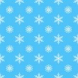 Do tempo sem emenda do teste padrão do vetor do floco de neve fundo tradicional do Natal do papel de envolvimento de dezembro do  ilustração do vetor