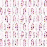 Do teste padrão sem emenda do vetor das flores da mola cores pastel macias ilustração do vetor