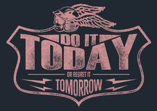 Do it today Royalty Free Stock Photos