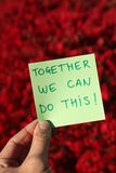 Do this together Stock Photo