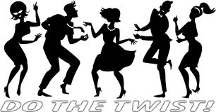 Do the Twist Royalty Free Stock Photo