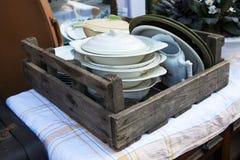 Do vintage da cozinha vida rústica ainda Fotos de Stock