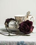 Do vintage do chá vida 2 ainda Foto de Stock Royalty Free