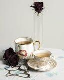 Do vintage do chá vida 2 ainda Imagem de Stock