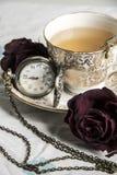 Do vintage do chá vida 2 ainda Fotos de Stock Royalty Free