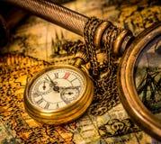Relógio de bolso antigo. Foto de Stock Royalty Free