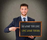 Do What You Love royalty free stock images