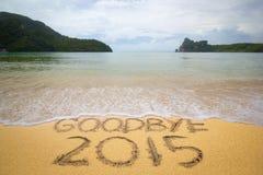 Do widzenia 2016 Zdjęcia Stock