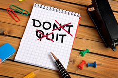 Do it word Royalty Free Stock Image