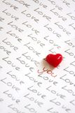 Do you love somebody?. Buy this image to person you love.If you have relationship,look at this picture together everyday,because everyday you should love each Royalty Free Stock Photo