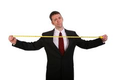 Do you Measure Up Stock Image