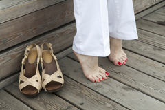 Do you need a new shoes? Stock Photo