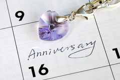 Do you remember today is our anniversary? Royalty Free Stock Image