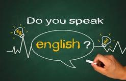 Do you speak english Royalty Free Stock Images