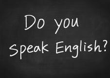 Do you speak English Stock Photos