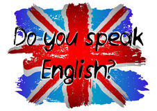 Do you speak English Stock Photography