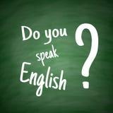 Do you speak English Language Concept Royalty Free Stock Photo
