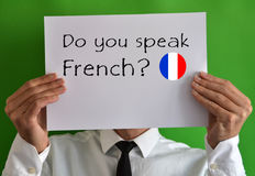 Do you speak French Stock Images