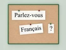 Do you speak French? Royalty Free Stock Photo