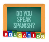 Do you speak Spanish Stock Images