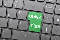 Do you support glass Stock Photography