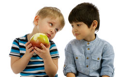 Do You Want an Apple too? Stock Photography