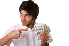 Do you want this money Royalty Free Stock Photos