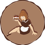 Do you want my cake? Royalty Free Stock Images