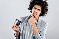 Do you want a photo or not? Royalty Free Stock Photos
