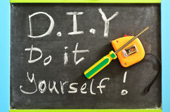 Do It Yourself - D.I.Y Stock Photo