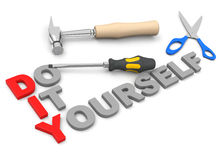 Do it yourself. DIY - do it yourself concept vector illustration
