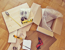 Do-it-yourself at home, project and tools Royalty Free Stock Image
