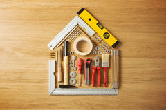 Do it yourself and home renovation tools Stock Image