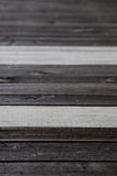Do it yourself natural wooden floor Royalty Free Stock Photos