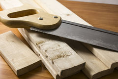 Do it yourself woodworking project Royalty Free Stock Photos