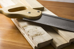 Do it yourself woodworking project Royalty Free Stock Photography