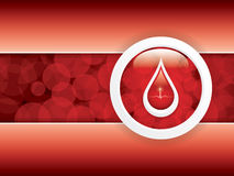 Doação de sangue ilustração royalty free