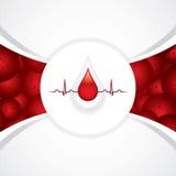 Doação de sangue ilustração stock