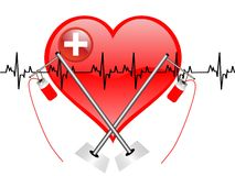 Doação de sangue Imagem de Stock Royalty Free