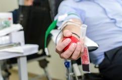 Doação de sangue imagens de stock
