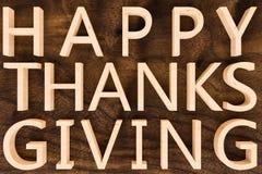 Doação feliz dos agradecimentos Imagens de Stock Royalty Free