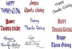 Doação feliz dos agradecimentos Fotos de Stock