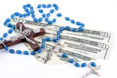Doações católicas Fotografia de Stock