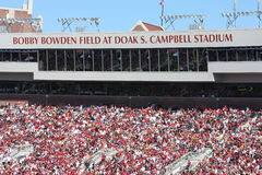 Doak Campbell Stadium. On October 29, 2011 in Tallahassee, Florida Royalty Free Stock Photo